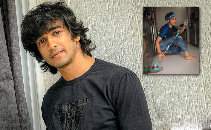 Actor and dancer Shantanu Maheshwari makes the best of his free time at home to beat home quaratine!