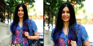 Adah Sharma keeps it cool in denim