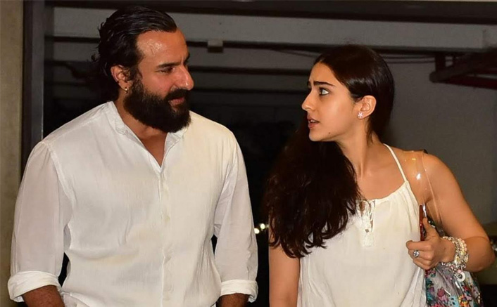 Saif Ali Khan Reacts On Working With Daughter Sara Ali Khan