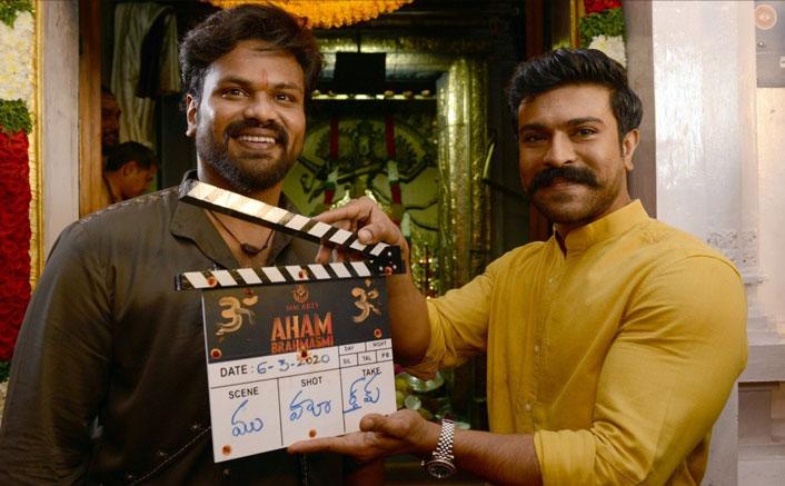 Aham Brahmasmi: Ram Charan Launches Manchu Manoj's Comeback Film In Style; Pics Inside