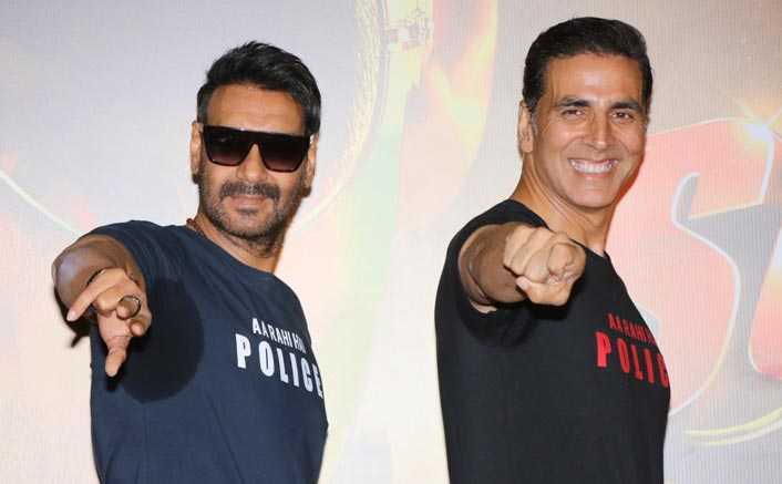 Akshay Kumar & Ajay Devgn Have NO Rift Amidst Them, Urge Fans To Stop The Social Media War; See Video