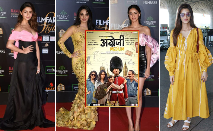 Bollywood Ki 'Kudiyaan' Alia Bhatt, Kiara Advani & More Come Together With Radhika Madan To Share Love For Angrezi Medium