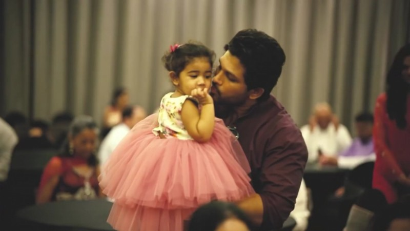 Allu Arjun & Daughter Arha's Adorable Video Will Drive Your Monday Blues Away