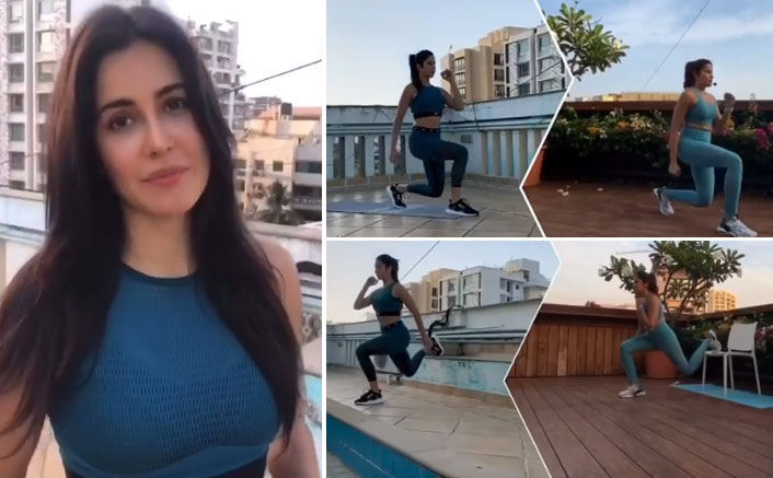 Amidst Coronavirus Lockdown, Katrina Kaif Doesn't Compromising With Promoting Fitness