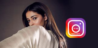 Ananya Panday crosses 10 mn followers on Insta, has sweet message for Ananians