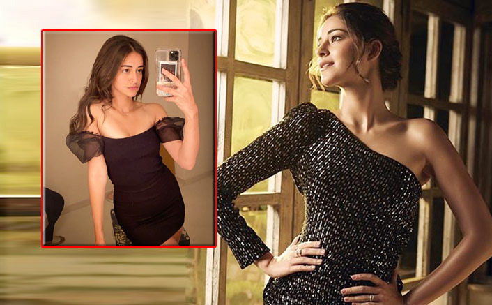 Ananya Panday's killer LBD therapy to beat COVID-19 blues