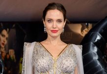 Angelina Jolie does her bit to feed underprivileged kids