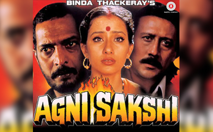 When Nana Patekar, Manisha Koirala and Jackie Shroff appeared in a Hollywood inspired thriller and delivered a blockbuster