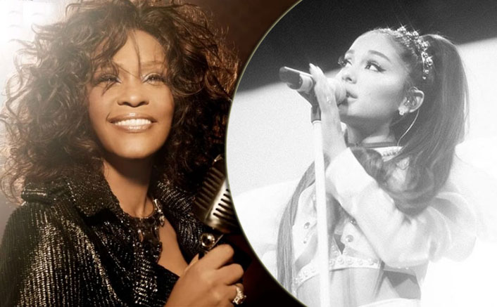Ariana Grande sings Whitney Houston hit in COVID-19 isolation