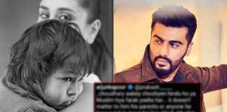 "Arjun Kapoor Slays With His Reply Over The Hate Comment On Kareena Kapoor Khan-Taimur's Pic; Says, ""Abey Ch**tiyen..."""