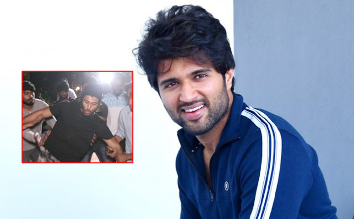 Arjun Reddy Star Vijay Devarakonda Lost His Balance While Walking & His Every Girl-Fan Skipped A Beat