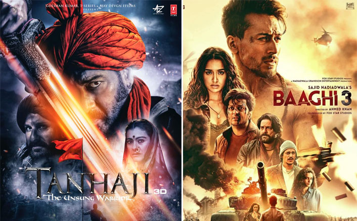 Baaghi 3 Box Office Day 1 Early Trends: A Massive Start Beating Ajay Devgn's Tanhaji!