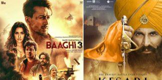 Baaghi 3 Box Office VS Akshay Kumar's Kesari - Will Tiger Shroff Be Able To Bring In Best Of Holi?