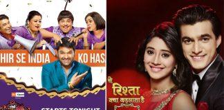 BARC Report Week 10 (2020): The Kapil Sharma Show REPLACES Yeh Rishta Kya Kehlata Hai In TV Rankings!