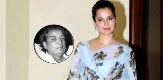 B'day girl Kangana recites Kaifi Azmi composition as tribute to martyrs