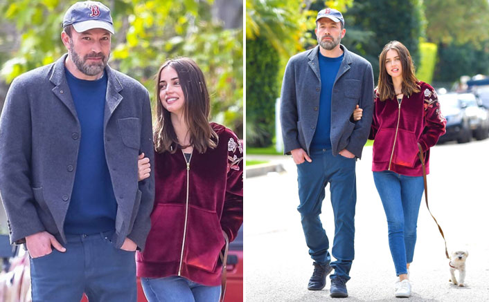 Ben Affleck SPOTTED Arm-In-Arm With Ana de Armas As They Enjoy A Romantic Walk