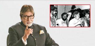 Big B shares throwback pics of 'best Holi' celebrations