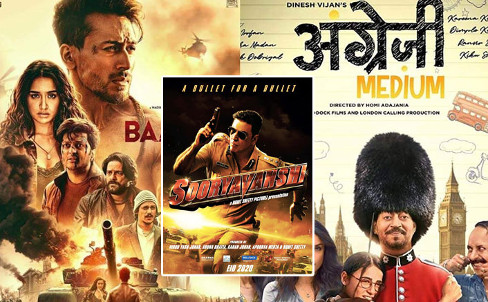 Box Office 2020 VS 2019: Courtesy Sooryavanshi's Postponement & Baaghi 3, Angrezi Medium's Underperformance, The Month Of March Has Been PLAGUED