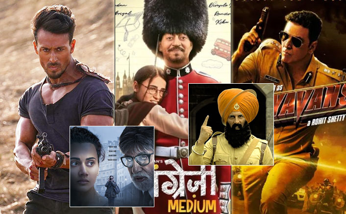 Box Office 2020 VS 2019: Will Baaghi 3, Angrezi Medium & Sooryavanshi Be Able To Cross 350+ Crores Of Last Year?