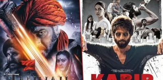 Box Office - Tanhaji: The Unsung Warrior surpasses Kabir Singh lifetime, set to go past 280 crores | Mar 9
