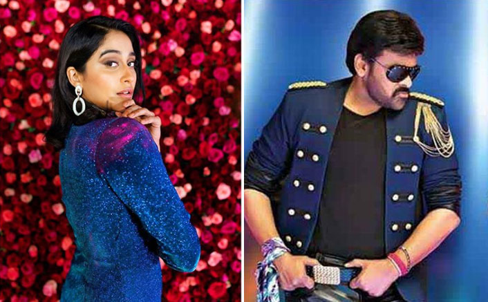 Here's What Happened When Regina Cassandra Tried To Match Her Dance Steps With Superstar Chiranjeevi