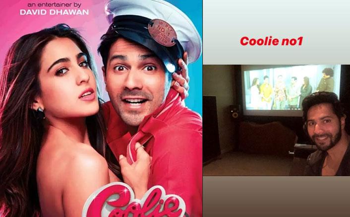 Coolie No. 1 Still Ft. Sara Ali Khan & Team LEAKED? Blame It On Varun Dhawan!