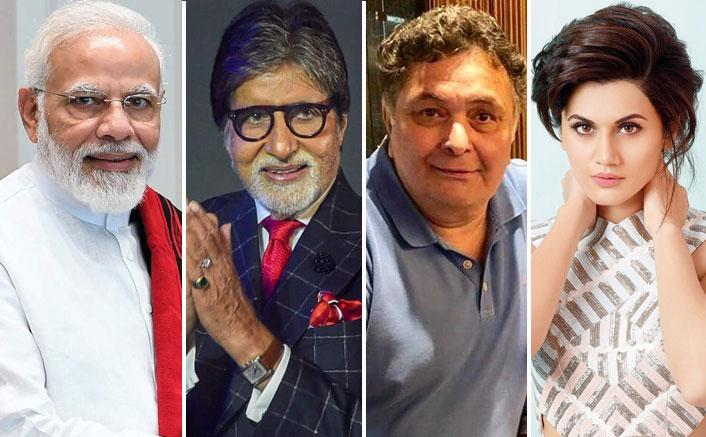 Coronavirus Pandemic: PM Modi Announces 21 Days Lockdown, Amitabh Bachchan, Rishi Kapoor & Others Request People To Follow