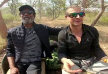 Discovery's Grylls shares Rajinikanth's TV debut video