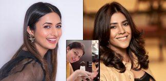 Divyanka Tripathi takes up Ekta Kapoor's Safe Hands challenge