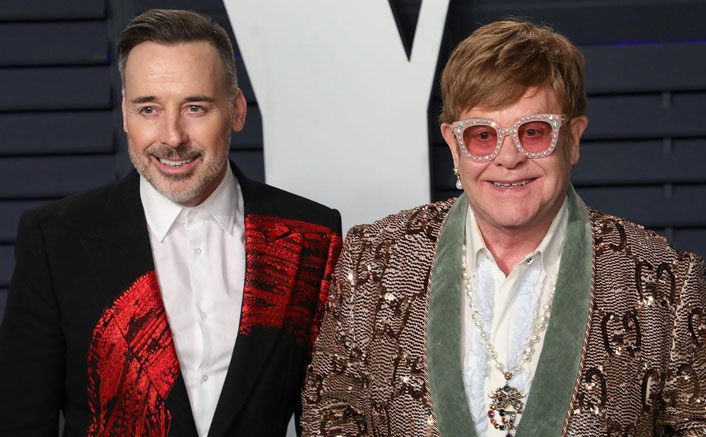 Elton John relishes quality time with husband