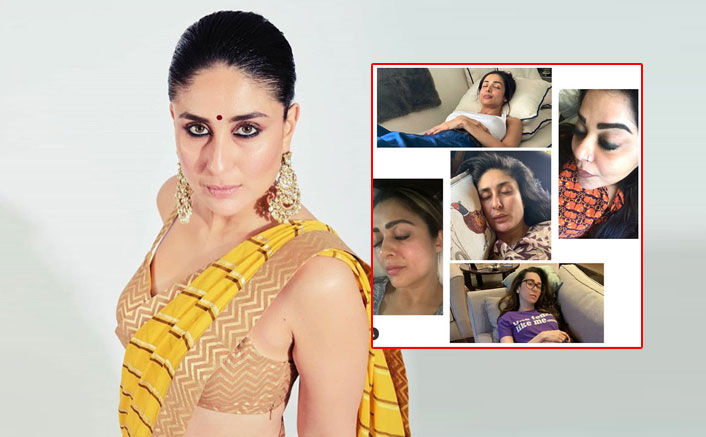 Fans Troll Kareena Kapoor Khan After The Actress Shared A Picture of Napping With Besties