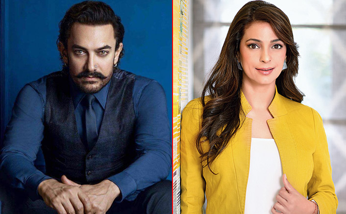 #FlashbackFriday: When Aamir Khan & Juhi Chawla Didn't Talk For 5-6 Years Due To A Silly Fight!