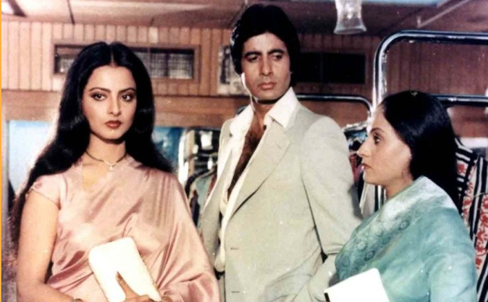 #FlashbackFriday: When Rekha Saw Jaya Bachchan Crying While Seeing Her Romancing Amitabh Bachchan Onscreen