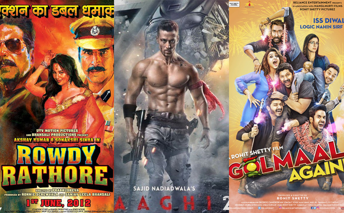 From Akshay Kumar's Rowdy Rathore To Tiger Shroff' Baaghi 2 - 5 Films That Were Bashed By Critics But Loved By Audience