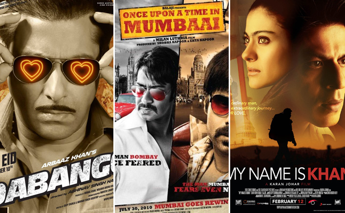 From Salman Khan's Dabangg To Shah Rukh Khan's My Name Is Khan - Top Bollywood Grossers Of 2010