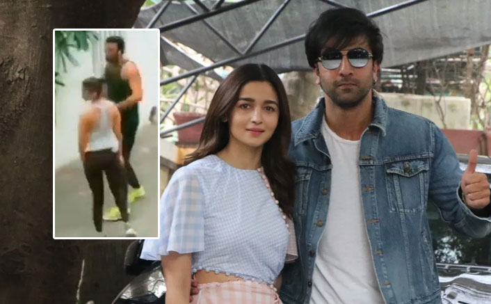 Have Alia and Ranbir moved in together? Video triggers rumours