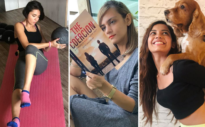 From Shweta Rohira To Parull Chaudhry, Check Out What Your Favourite TV Celebs Are Doing To Pass Time During Self-Quarantine