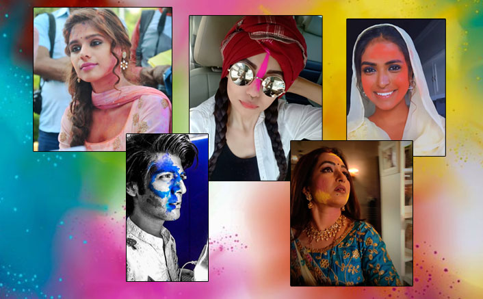 Holi 2020: Sherlyn Chopra To Falaq Naaz, Celebs Send Out Colourful Wishes To Fans!