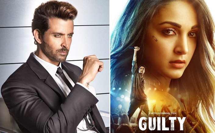 "Hrithik Roshan Praises Kiara Advani For Her Performance In Guilty, Says, ""You Are Absolute Brilliance"""