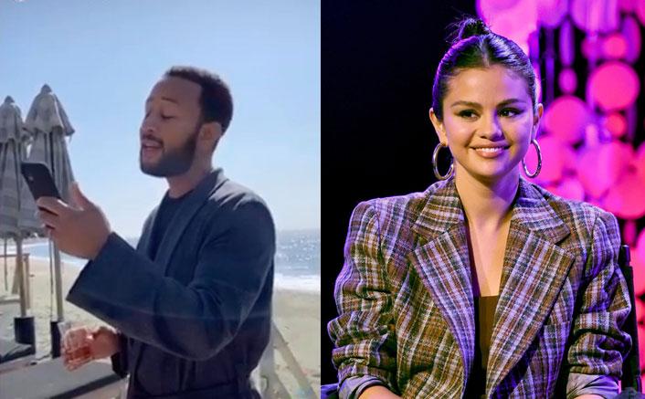 John Legend Sings Selena Gomez's 'Hands To Myself' On Daughter's Soft Toys' Wedding & It's Winning The Internet