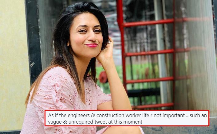 "JUST IN! Divyanka Tripathi On Backlash Over Coronavirus Tweet, Questions ""Should Everything Be News…"""