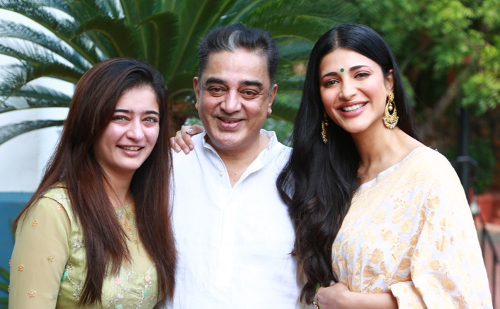 WHOA! Shruti Haasan, Kamal Haasan & Family Aren't Quarantining Together, Staying In Separate Apartments!