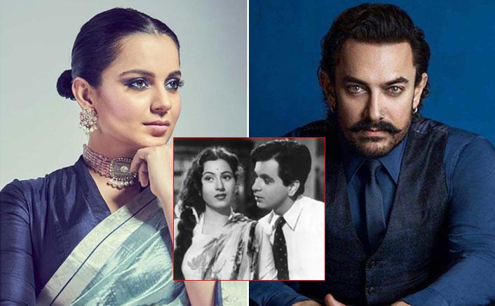 Kangana Ranaut Plans To Do A Film With Aamir Khan On The Real-Life Love Story Of Dilip Kumar & Madhubala