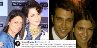 "Kangana Ranaut's Sister Rangoli Chandel Threatens Troll Supporting Hrithik Roshan: ""Will Rip You Apart…"""