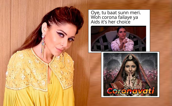 #KanikaKaCoronaCrime: From Padmaavat To Neha Dhupia's Roadies Reference - Kanika Kapoor's COVID-19 Row Turns Meme Fest!