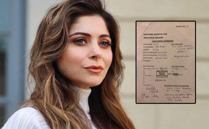 Kanika Kapoor's Missing Friend Finally Found; His Results For Coronavirus Are OUT!