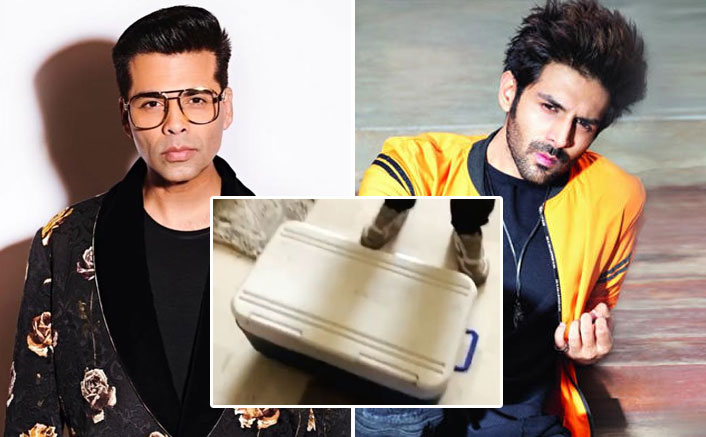 Karan Johar Sends Kartik Aaryan Ice Cream & He's Selling Them For 2 Lakhs+GST Per Scoop