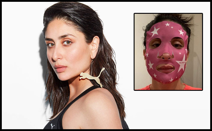 Kareena posts a 'starry' picture in face mask