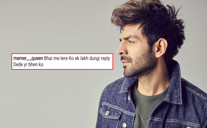 "Kartik Aaryan Fan Comments ""Reply Kardo, 1 Lakh Dungi""; Actor Has A HILARIOUS Response"