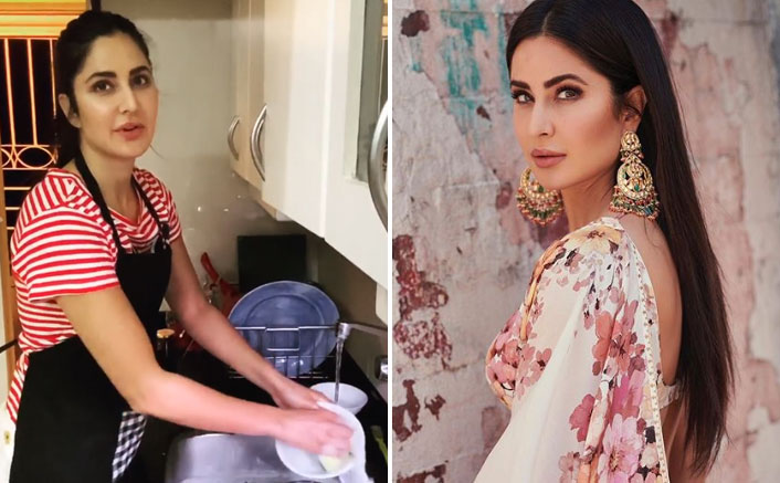 Katrina Kaif Gives Out Tips On Doing Dishes Without Wasting Too Much Water & Y'all Must Watch It!